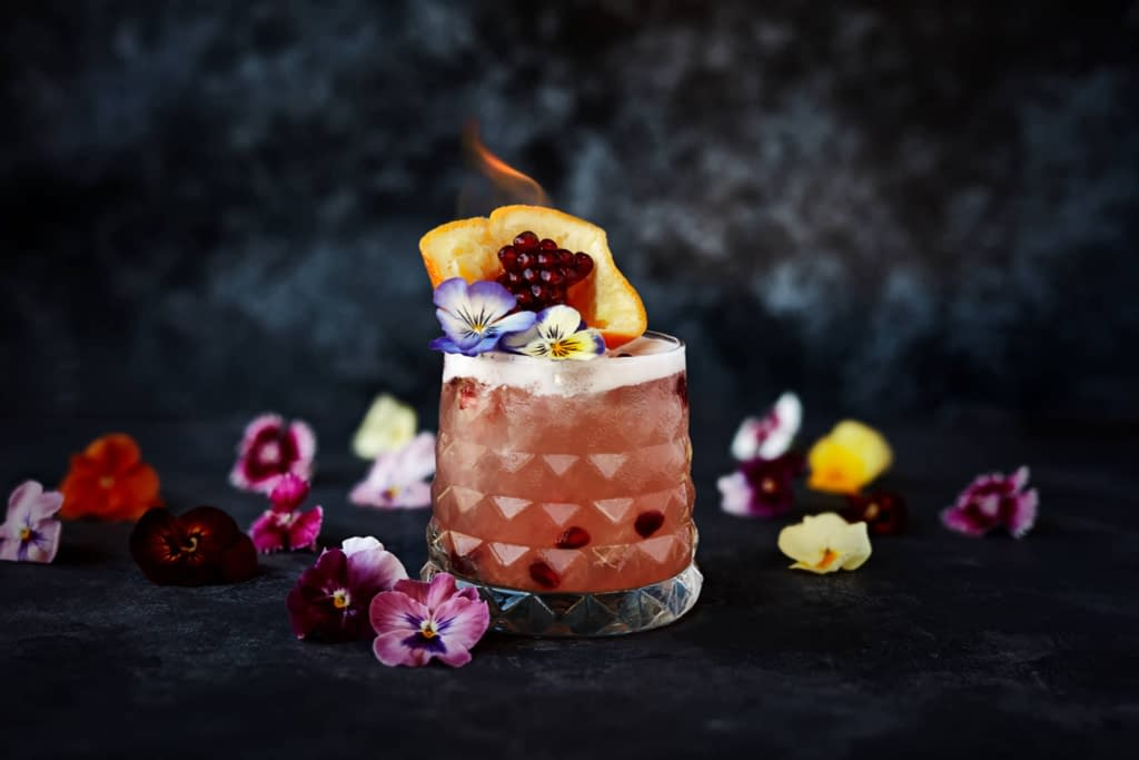 Cocktail photography and styling